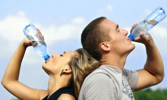 The More H2O You Drink, The Thinner You Are
